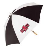62 Inch Black/White Umbrella-A State