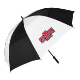 62 Inch Black/White Umbrella-A State