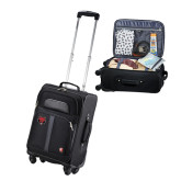 Wenger 4 Wheeled Spinner Carry On Luggage-Red Wolf Head