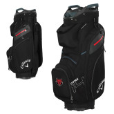 Callaway Org 14 Black Cart Bag-Red Wolf Head