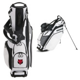 Callaway Hyper Lite 4 White Stand Bag-Red Wolf Head
