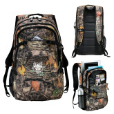 High Sierra Fallout Kings Camo Compu Backpack-Red Wolf Head