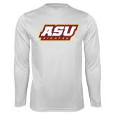 Syntrel Performance White Longsleeve Shirt-ASU Pirates