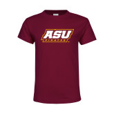 Youth Maroon T Shirt-ASU Pirates