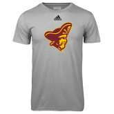 Adidas Climalite Sport Grey Ultimate Performance Tee-Pirate Head