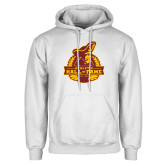 White Fleece Hoodie-Athletic Hall of Fame