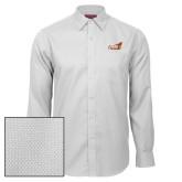 Red House White Diamond Dobby Long Sleeve Shirt-Official Logo