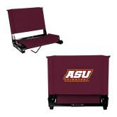 Stadium Chair Maroon-ASU Pirates