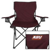 Deluxe Maroon Captains Chair-ASU Pirates