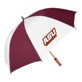62 Inch Maroon/White Umbrella-ASU Pirates