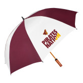 62 Inch Maroon/White Umbrella-Pirates Nation