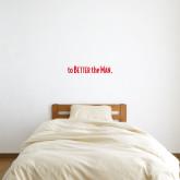 6 in x 2 ft Fan WallSkinz-To The Better Man