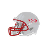 Riddell Replica White Mini Helmet-Greek Letters