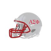 Riddell Replica White Mini Helmet-Greek Letters
