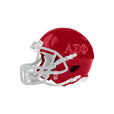 Riddell Replica Red Mini Helmet-Greek Letters