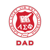 Dad Decal-Seal, 6 inches wide