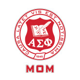 Mom Decal-Seal, 6 inches wide