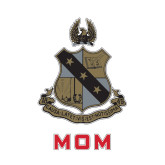 Mom Decal-Coat of Arms, 6 inches tall