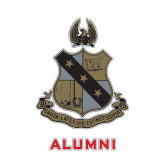 Alumni Decal-Coat of Arms, 6 inches tall