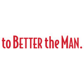 Extra Large Decal-To The Better Man, 18 inches wide