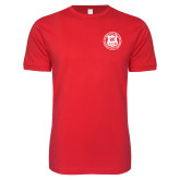 Next Level SoftStyle Red T Shirt-Seal