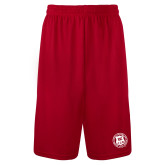 Syntrel Performance Red 9 Inch Length Shorts-Seal