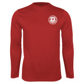 Performance Red Longsleeve Shirt-Seal