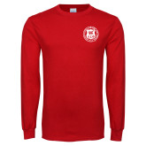 Red Long Sleeve T Shirt-Seal