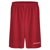 Performance Classic Red 9 Inch Short-Alpha Sigma Phi Flat