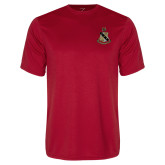 Performance Red Tee-Coat of Arms