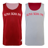 Red/White Reversible Tank-Arched Alpha Sigma Phi