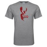 Grey T Shirt-Phoenix w/ Greek Letters