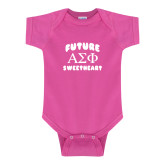 Fuchsia Infant Onesie-Future Greek Letters Sweetheart