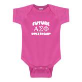 Fuchsia Infant Onesie-Future Greek Letters Sweetheart