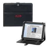 Deluxe Black iPad Stand-Greek Letters