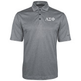 Nike Golf Dri Fit Charcoal Heather Polo-Greek Letters