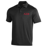 Under Armour Black Performance Polo-Greek Letters