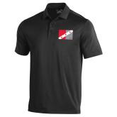 Under Armour Black Performance Polo-Fraternity Flag