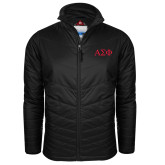 Columbia Mighty LITE Black Jacket-Greek Letters
