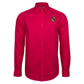 Red House Red Long Sleeve Shirt-Coat of Arms