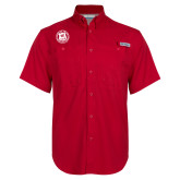 Columbia Bonehead Red Short Sleeve Shirt-Seal