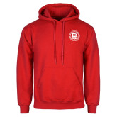 Red Fleece Hoodie-Seal