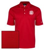 Nike Dri Fit Red Pebble Texture Sport Shirt-Seal