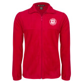 Fleece Full Zip Red Jacket-Seal