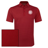 Columbia Red Omni Wick Sunday Golf Polo-Seal