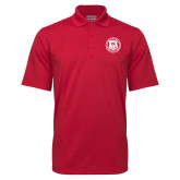 Red Mini Stripe Polo-Seal