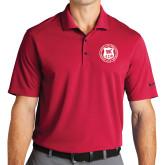 Nike Golf Dri Fit Red Micro Pique Polo-Seal