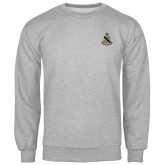 Grey Fleece Crew-Coat of Arms