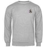 Grey Fleece Crew-Coat of Arms