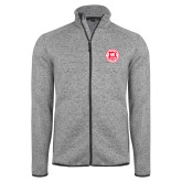 Grey Heather Fleece Jacket-Seal